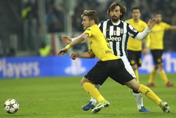 Borussia Dortmund encontraría el empate parcial en un error defen...