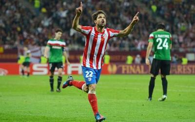 Diego liquidó el juego, 3 a 0, fiesta total del Atlético de Madrid.