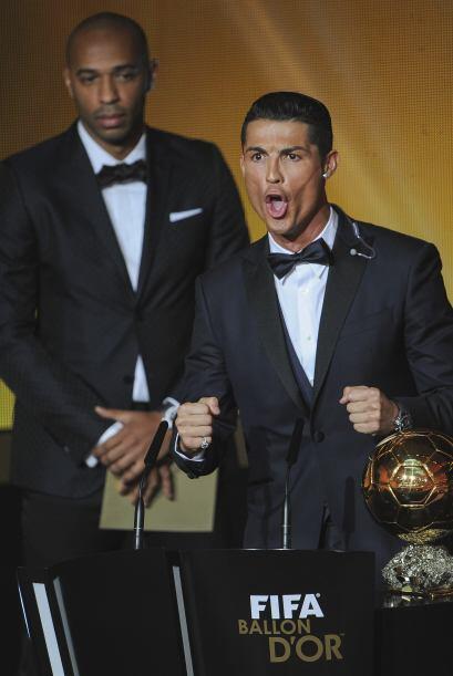"""Y aunque lo vimos muy contento por su premio, hubo una """"piedrita en el z..."""