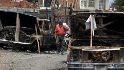 La ciudad mexicana de Michoacán volvió a ser foco de la violencia.