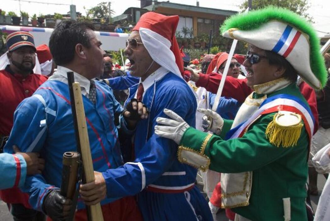 En aquel entonces, las tropas mexicanas derrotaron al mejor preparado y...