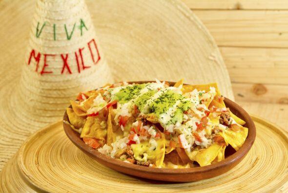 NACHOS SALUDABLESAdemás de saborear lo 'mexicanísimo' en l...