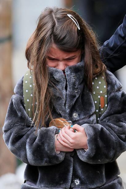 La pobre Suri lloraba y lloraba. Más videos de Chismes aquí.