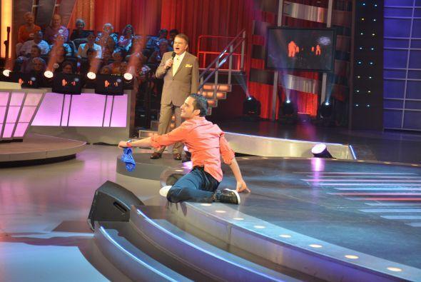 ¡A bailar y deslizarse! ¡Movieron todo su cuerpo para poder ganar!