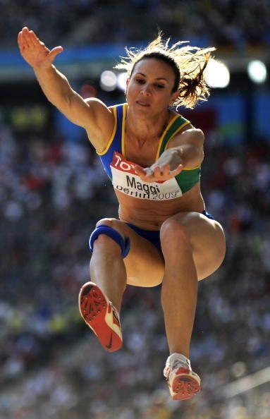 La brasileña Maurren Higa terminó en el undécimo si...