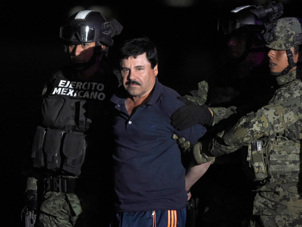 The accused Mexican drug trafficker, El Chapo Guzman, is set to be extra...