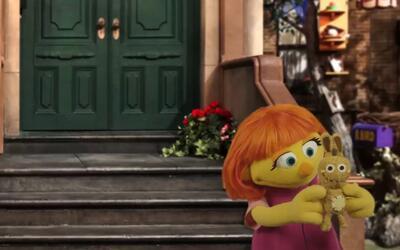 Conoce a Julia, el nuevo personaje de 'Plaza Sésamo' con autismo