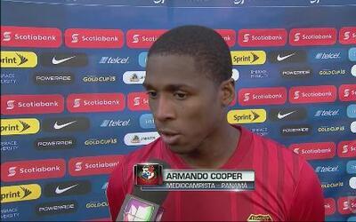 Armando Cooper: 'Queríamos cerrar de buena forma'