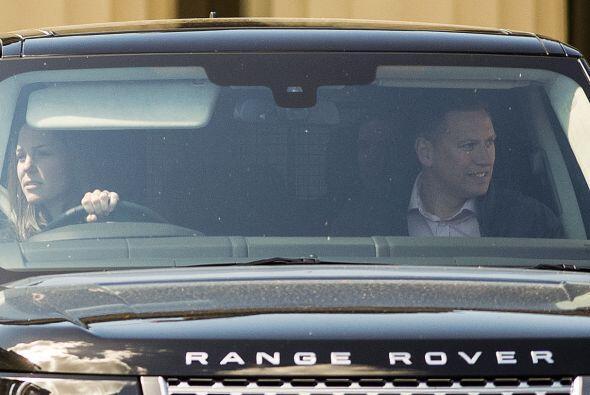 Kate abandonó el Palacio de Buckingham para hacer unas compritas.