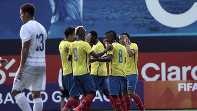 Ecuador cierra preparación con goleada a Panamá y piensa en Chile en Cop...