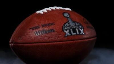Balón SB XLIX. (AP-NFL)
