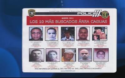 Publican a los criminales más buscados en Caguas