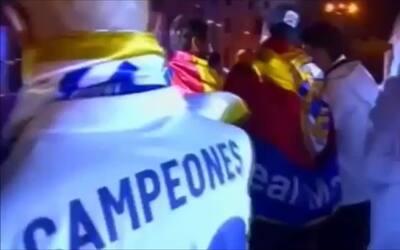 """¿Qué jugador del Real Madrid inició el canto?: """"Piqué, cab..., saluda al..."""