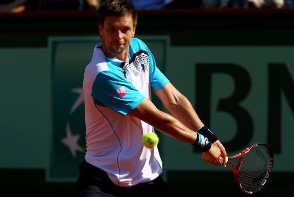 Al igual que en la clasificación de la ATP, Robin Soderling llega como q...