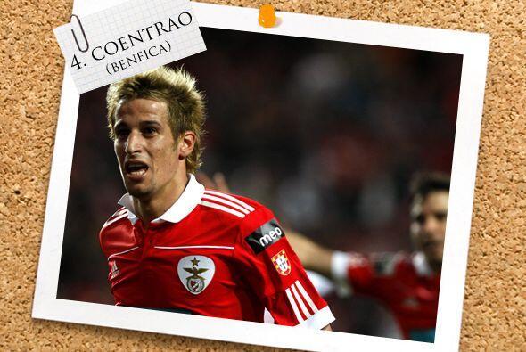 La lateral izquierda es cubierta por el portugués Fabio Coentrao.