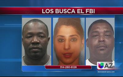 FBI busca a estos tres fugitivos