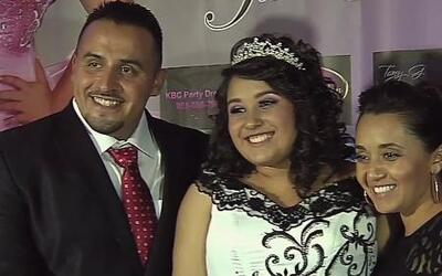Juan Rivera celebró los XV de su hija, quien lucía un diseño de Jenni Ri...