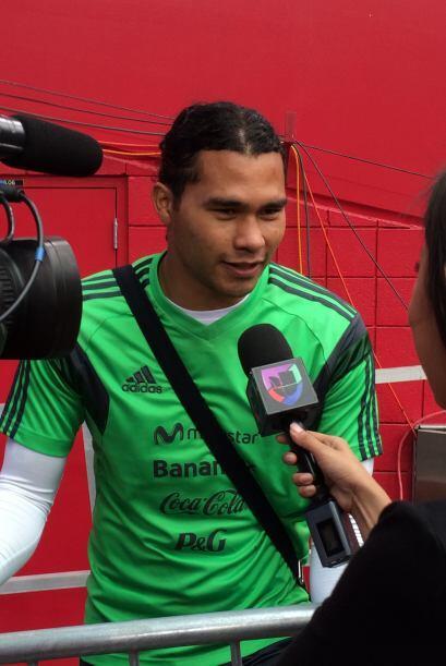 """El """"Gulit"""" Peña respondió todo tipo de preguntas, incluyendo de moda."""