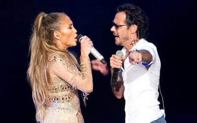 Jennifer López invitó a su exesposo Marc Anthony a cantar...