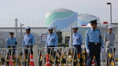 Reactor nuclear Japón.