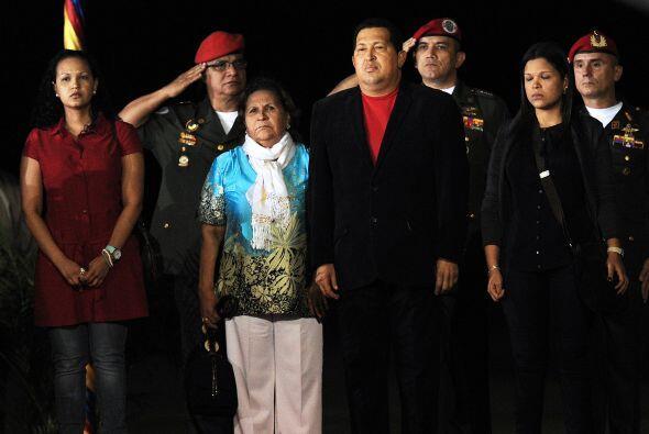 En la trayectoria del presidente venezolano Hugo Chávez, las mujeres y l...