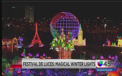 Festival de luces en Houston