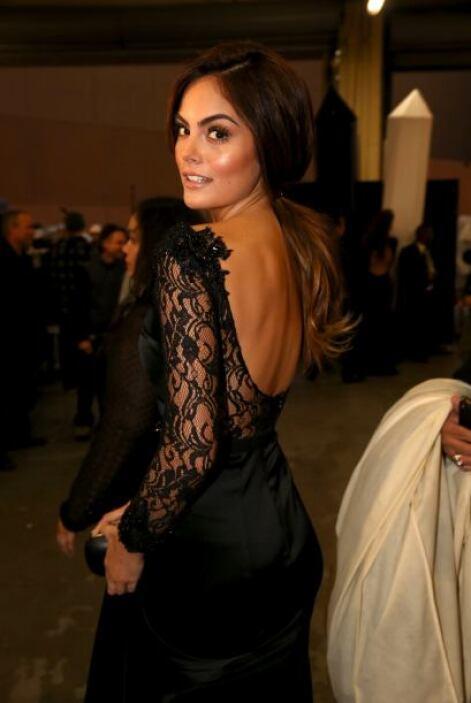 Esta sí fue una buena elección de la ex Miss Universo, Ximena Navarrete.