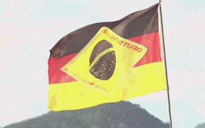 La conquista de Alemania sobre Brasil se reflejó hasta en su bandera