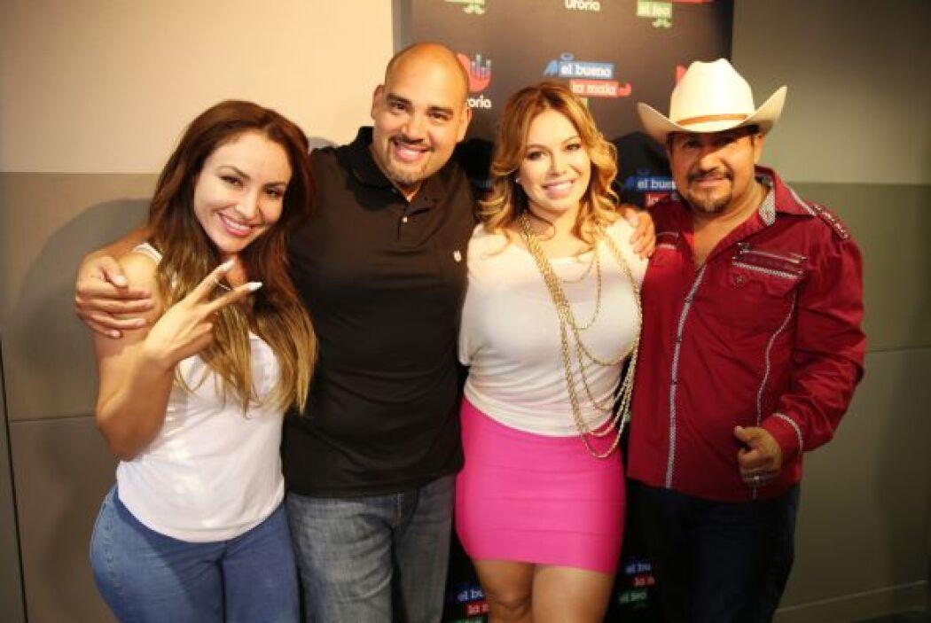 Chiquis estuvo con El Bueno, La Mala y El Feo y nos contó del estreno de...