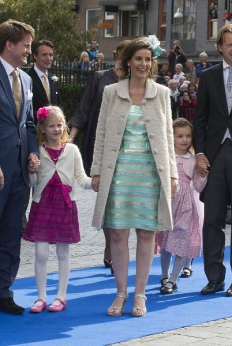 La princesa Anita de los países bajos eligió un moderno y fascinante toc...