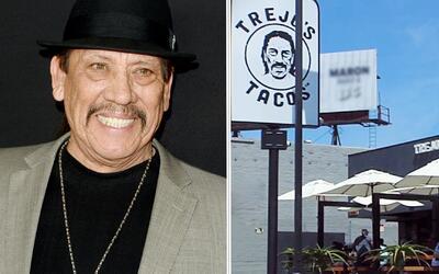 """Danny Trejo le puso salsa """"machete"""" a sus tacos y abrió su restaurante"""