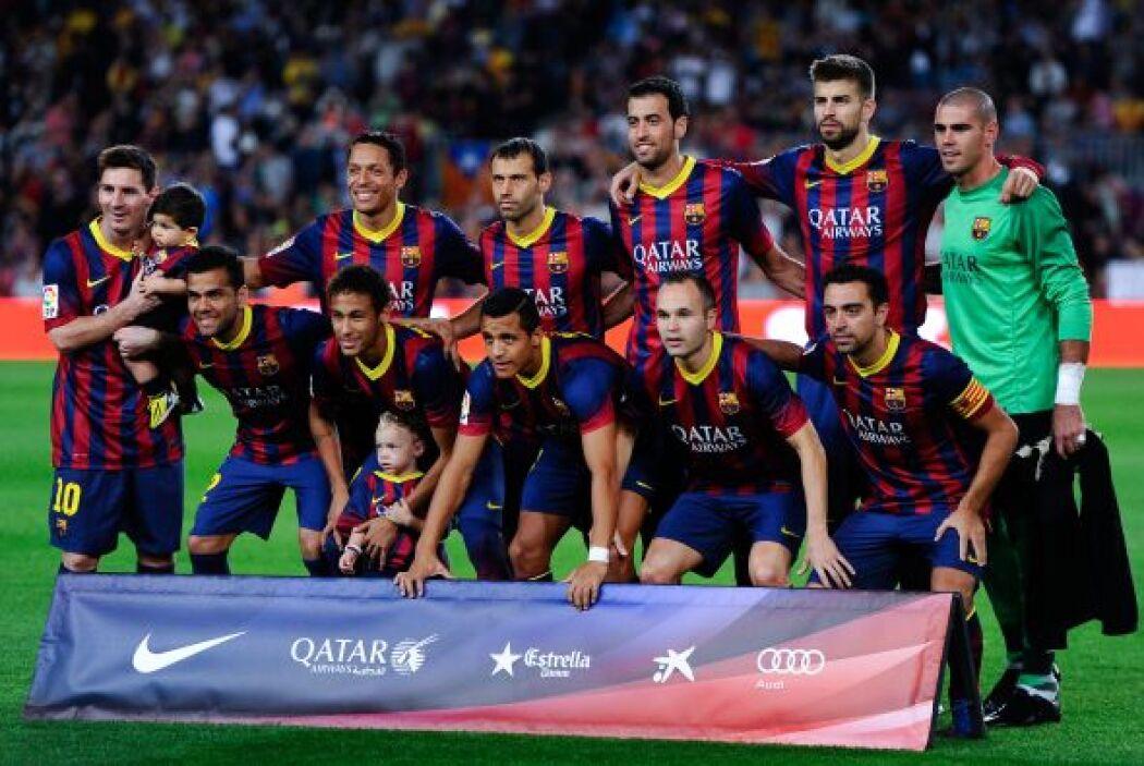 Nuevo partido en el Camp Nou en el que el Barcelona recibía a la Real So...