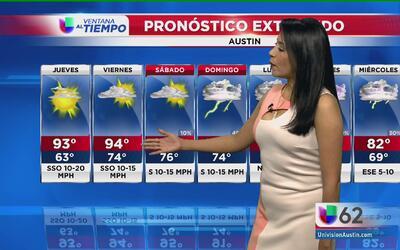 Regresan los días soleados a Austin