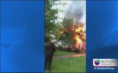 Investigan causas de incendio en vivienda abandonada en West Englewood