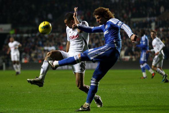 Pero el Chelsea no se dio por vencido, no podía dejar de puntuar en este...