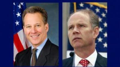 Eric Schneiderman (D) y Daniel Donovan (R), aspirantes a la Fiscalía Gen...
