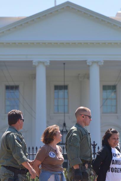 Entre los arrestados en la marcha había inmigrantes indocumentados.