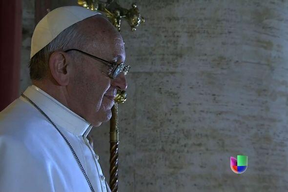 Jorge Mario Bergoglio se convertiría así en el nuevo Papa...