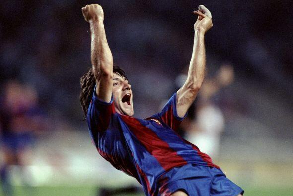 Con goles de Amor y Salinas, el Barca de Johan Cruyff se llevó ta...