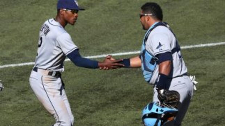 Molina y Upton aseguran victoria de los Rays