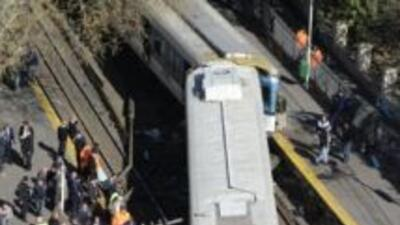 En el accidente de tren hubo un saldo de 170 heridos y nuevo muertos has...