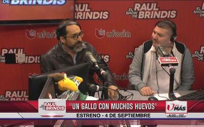 Entrevista a Bruno Bichir en el show de Raul Brindis