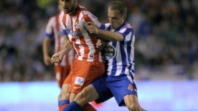 El Atlético firmó un controversial empate.