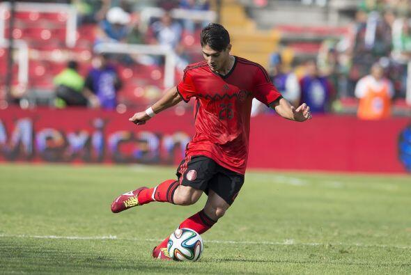 Javier Güemez, el volante de Xolos ya tuvo la oportunidad de vestir...