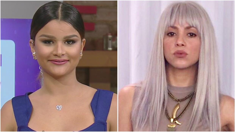 Clarissa Molina nos mostró el nuevo look de Shakira ¿A ustedes les gustó?