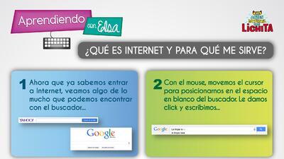 Aprendiendo con Elsa: ¿Qué es Internet y para qué me sirve?