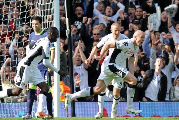 El jugador del Fulham fue clave para que se impusieran los 'Cottagers'.