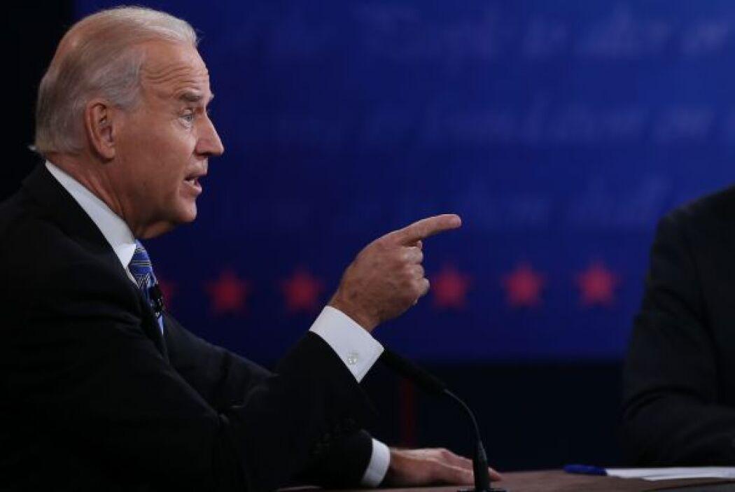 Ante esto, Biden replicó con sus dardos contra Romney por su oposición a...