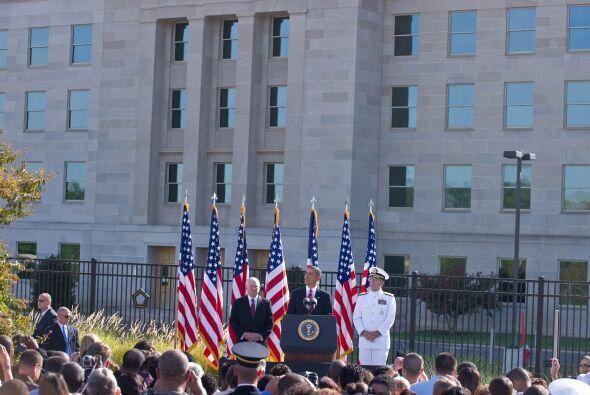 Anteriormente, la conmemoración estadounidense de los ataques ter...