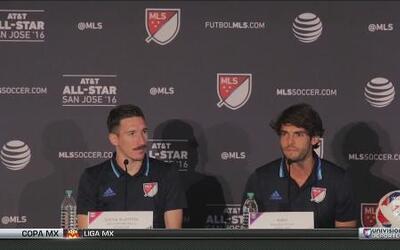 """Kaká: """"Crecí en Brasil viendo los Juegos de Estrellas de NBA, NFL y béis..."""